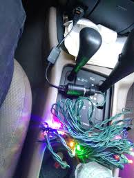 how to put christmas lights on your car installing 12 volt christmas lights in your car