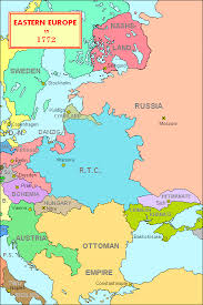 russia map before partition eastern europe before partition of poland 1772 catherine the