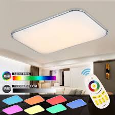 Changing Ceiling Light Modern Led Ceiling Lights Living Room 2 4g Remote Controlled
