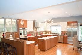 custom cherry countertop in a kitchen designed by gordon blau of