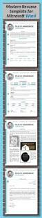 modern word resume templates diy resume template free resume example and writing download resume template modern cover letter portfolio word cv template professional curriculum vitae