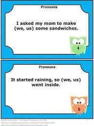 58 best pronouns images on pinterest language activities