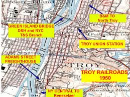 New York Gang Map by The Troy U0026 Schenectady Railroad What If It Still Existed