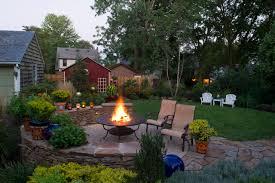 exterior design landscaping design and wood flooring in