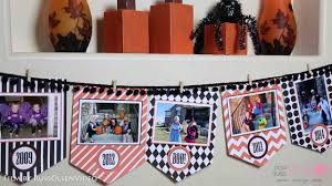 free printable halloween photo banner kit youtube