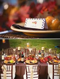 rustic outdoor thanksgiving dinner hostess with the mostess
