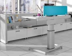Height Adjustable Standing Desk by Standing Desk Shootout Steelcase Airtouch Height Adjustable Table