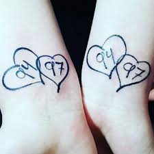 image result for matching ideas for siblings tattoos