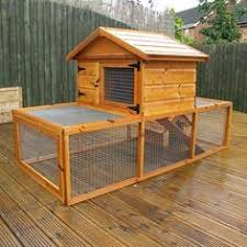 rabbit hutch with automatic collector rabbit hutches
