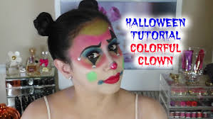 mouse makeup halloween how to create a colorful clown for halloween ft bella