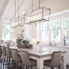kitchen island table with chairs chandelier interesting kitchen table chandelier ideas glamorous