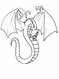 dragon coloring pages coloringmates coloring home