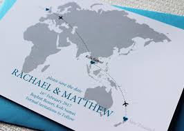 wedding invitations nz world map save the date for a destination wedding destination