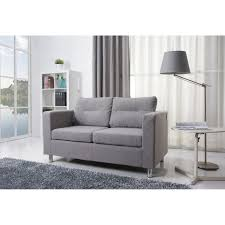 furniture cream tufted leather cheap loveseats with wood legs for