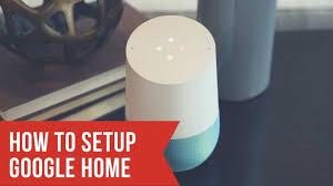 google home setup how to set up google home youtube