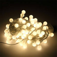 20 led string lights white clear g45 globe connectable plug