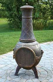 Large Terracotta Chiminea Large Clay Chiminea Outdoor Fireplace Mexican Cast Iron Reviews