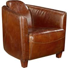 Leather Lounge Chair Aurelle Home Brown Leather Lounge Chair Free Shipping Today
