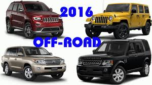 off road sports car best off road suvs 2016 buying guide suv car 2016 youtube