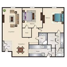 dining room floor plans floor plans with 1 2 or 3 bedrooms heritage apartment homes