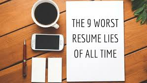 Worst Resumes Ever The 9 Worst Resume Lies Of All Time Trupath Search