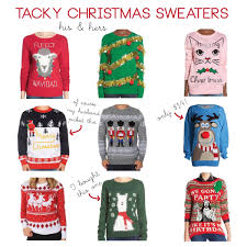 christmas hers his and hers tacky christmas sweaters a style