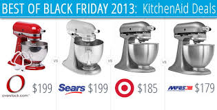 best kitchenaid mixer deals black friday 2013 at kohl s sears and