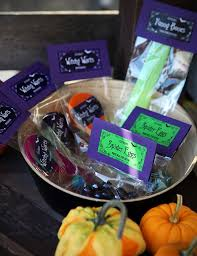 candy free halloween treat bags gift u0026 favor ideas from evermine
