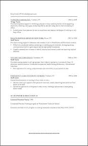 sample resume nursing student format best ideas about lpn and