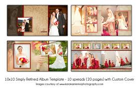 wedding album templates psd wedding album template simply refined 12x2 10 spread