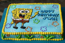 spongebob cake ideas spongebob seaweed birthday cake s cakes cakes for