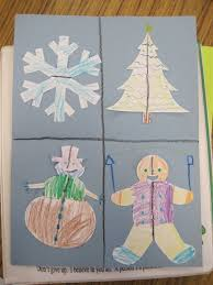 savvy second graders christmas symmetry