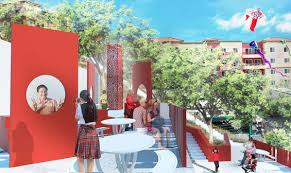 ahbe landscape architects designs a place for the la u0027s chinatown