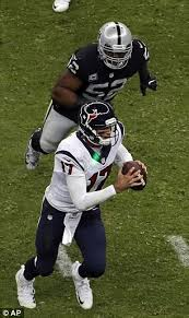 fan shines green laser in houston texans quarterback brock