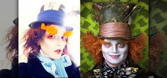Mad Hatter Halloween Costume Apply Mad Hatter Johnny Depp Costume Makeup Makeup