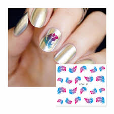 popular feather nail designs buy cheap feather nail designs lots