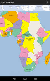 africa map states africa map puzzle android apps on play