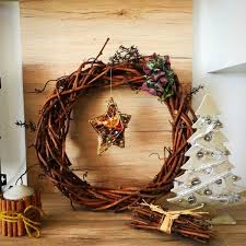 festive wall and door decoration ideas with wreaths fresh design
