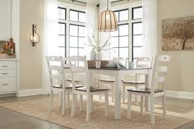 ashley dining room furniture set d335 425 signature by ashley woodanville dining room table set 7