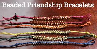 make friendship bracelet with beads images Friendship beads mrs duck 39 s domestic doings jpg