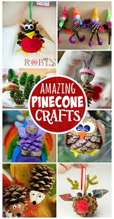 Pinterest Crafts For Kids To Make - pine cone crafts for kids to make find an owl christmas tree