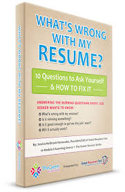 Fix My Resume E Learning Course What U0027s Wrong With My Resume 10 Questions To