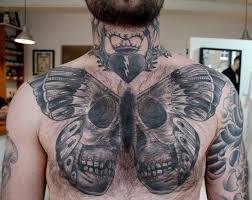 3d butterfly skull meaning design idea for and