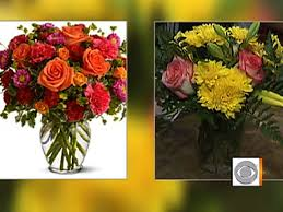 ordering flowers beware ordering flowers online cbs news