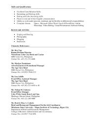 Front Desk Job Description For Resume by Gene Iris Tanedo Resume 2016