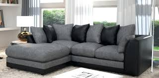 coffee table grey living room black and grey sofa wooden coffee table on black and white carpet in