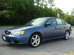 subaru sedan legacy 2006 atlantic blue pearl subaru legacy 2 5i special edition sedan