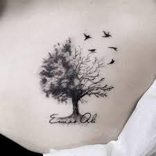 tree tattoos designs bonsai redwood pine weeping willow oak