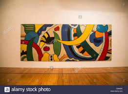 berardo collection museum interior painting by fernand leger