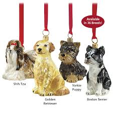 european glass ornaments great gear and gifts for dogs at home